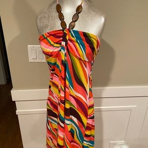 Multicolored Swimsuit Coverup (NWOT)